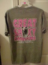 GREAT SMOKY MOUNTAIN BEAR T-SHIRT ~ BEAR  T-SHIRT ~ SIZE SELECT