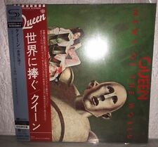Queen, News Of The World (Japan Mini LP SHM CD) UICY-75889 with 2 OBI