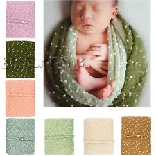 Cute Baby Kids Newborn Mohair Backdrop Wrap Cloth Prop Outfits Photo Photography