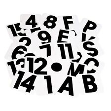 Stubbs Spare Stickers - Letters and Numbers