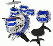 11pc Kids Boy Girl Drum Set Еducation Musical Instrument Toy Playset NEW 3 Color