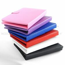 USB Keyboard PU Leather Case Cover Stand for 8'' 9''inch Android Tablet PC XGODY
