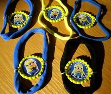 New Despicable Me Minion Themed Bottlecap Bracelets -Choice of Images/Colors