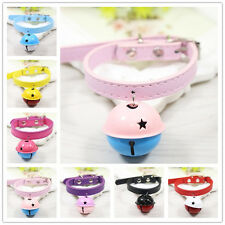Extra Small Dog Collar Pet Puppy Cat Necklace with Big Bell Gift for chihuahua