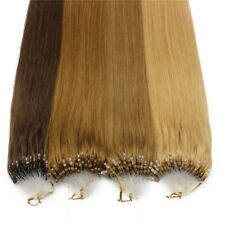 "1g/s 100g 16""-22"" Micro Ring Loop Remy Human Hair Extensions"