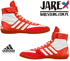 adidas Combat Speed 5 Wrestling Shoes Boots Red/White
