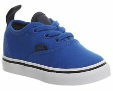 Vans Authentic Elastic Lace Imperial Blue Toddler Boys Shoes