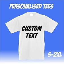 Personalised T Shirts custom printed event stag hen charity events customised