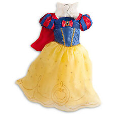 NWT DISNEY STORE Princess SNOW WHITE Dress Girls Size 7/8 9/10 Gown Costume