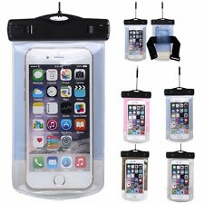 Waterproof Case Dry Bag Cell Phone Pouch Lanyard Strap NEW For Swim/Surf/Jog