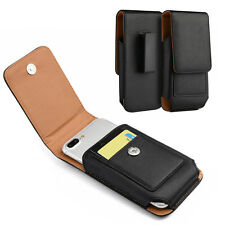 HOLSTER BELT CLIP LEATHER CASE POUCH FOR MOTOROLA MOTO Z FORCE DROID/ZPLAY DROID