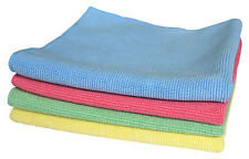 Microfibre Car Valet Dusters, Ideal For Polishing Cleaning Cars, All Colours,