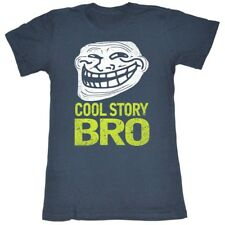 U Mad? You Mad Bro? Meme GIF Trending Distressed Cool Story Bro Juniors T-Shirt