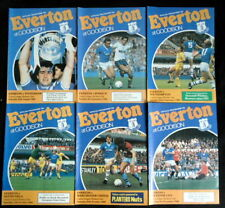 Everton   League & Cup  1984-1985  Championship Winning Season   all listed