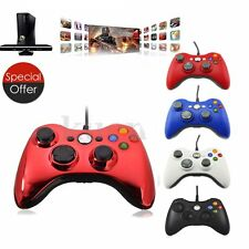Microsoft Xbox 360 Wired Multicolor Game Remote Controller for PC Computer OY