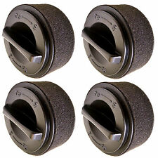 4-Pack HQRP Inner Outer Circular Filter fits Bissell 23T7 Series Vacuums 2037593