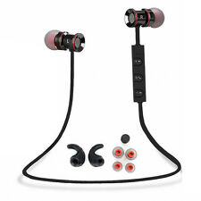 Black -ZH53 In-Ear Wireless Sports Bluetooth Headphone Earbuds Headset Earphone