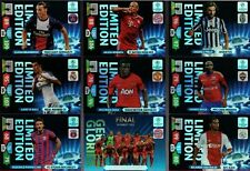 PANINI ADRENALYN XL CHAMPIONS LEAGUE 2013/2014 LIMITED EDITION CARDS