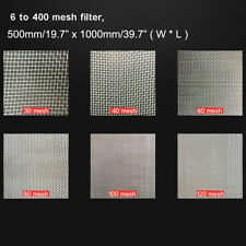 304 Stainless Steel woven wire mesh ( filter grading sheet ) 500mm Square sheet