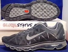 NIKE AIR MAX + 2011 ANTHRACITE COOL GREY BLACK RUNNING SHOES 429889 012 SIZE 9.5