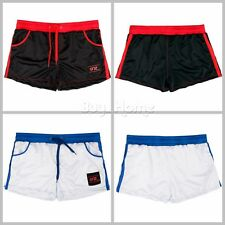 Mens Casual Running Sport Shorts Athletic Training Gym Short Mesh Pants Trousers