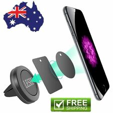 Car Magnetic Air Vent Sticky Mount Holder Stand For Mobile Cell Phone iPhone OP.