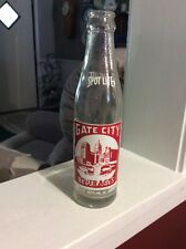 RARE VINTAGE ATLANTA GA Gate City SPOT LITE SODA BOTTLE  6 1/2 OZ