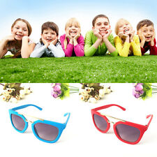 Baby Boys Metal Sunglasses Dark Glasses Anti-UV Goggles Candy colors Girls Kids