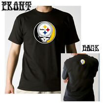 Steal Your Face Steelers Grateful Dead inspired Pittsburgh T-shirt Phish