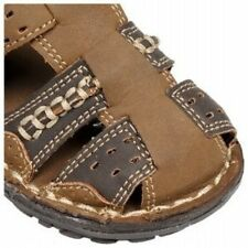 OshKosh B'gosh Atlantis boy kid Toddler Sandals Shoes Dark Brown Tan NEW Toddler
