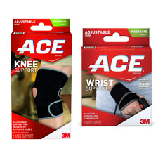 ACE Ajudstable Knee Wrist Neoprene Support Brace Physio Quality
