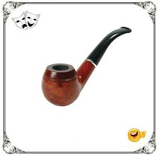 Smoking Pipe Uncle Albert Sherlock Detective Victorian Edwardian Fancy Dress New