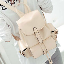 Fashion PU Leather Backpack School Book Bag Travel Shoulder Bags for Girl Women