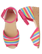 NWT Gymboree Sugar Reef Rainbow Espadrille Shoes 9,10,11,12,13,1,2,4 Girls