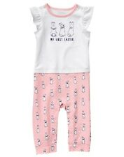 NWT Gymboree Peter Rabbit Pink Rabbit Romper Baby Girl My First Easter
