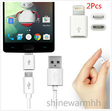2x Sync USB Type C 3.1 Male to Micro USB 2.0 5 Pin Female Data Adapter Converter