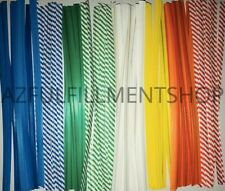 "2,000 Twist Ties 11"" Length Plastic Coated No Rip Paper Ties Cello General Use"