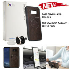 Magnetic Car Air Vent Holder Mount & Genuine Case for Samsung Galaxy S8 plus /S8