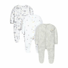 Baby Newborn woodland sleepsuits - 3 pack