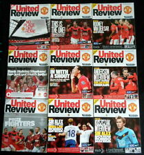 Manchester United   2009-2010   League, Champions League & Cup  all listed  vgc
