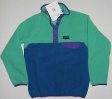 NWT GIRL'S XS (5-6) OR S (7-8) PATAGONIA LIGHTWEIGHT SYNCHILLA SNAP-T PULLOVER