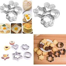 Stainless Steel Biscuit Cookie Pastry Fondant Mold Mould Cutter Cake Decor