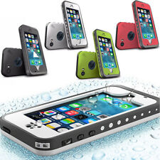 Shockproof Waterproof Dirt Proof Hard Case Cover For Apple iPhone 5C iphone 5 5S