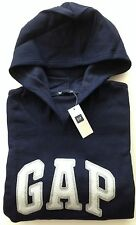 Womens GAP Stripe LOGO BLUE HOODIE SWEATSHIRT Sizes XS, S, M, L, XL, 2XL - NWT