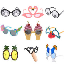 Funny Party Glasses Eyeglasses Tropical Hallowmas Costume Fancy Dress