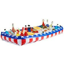 4th Of July Decor Buffet Server Inflatable Buffet Cooler for Indoor And Outdoor