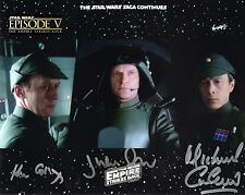 Star Wars : The Empire Strikes Back / Cast Signed x 3 / Glossy Photo