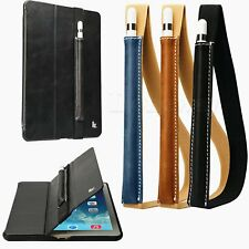 """Genuine Leather Case Pouch Sleeve Bag Holder For Apple Pencil iPad Pro 9.7/12.9"""""""