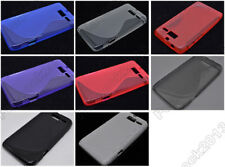 Multi Color S-Types TPU Silicone CASE Cover For Motorola MOTO RAZR M XT907