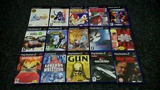 Playstation 2/PS2 Games Make Your Own Bundle/Joblot Tested And Complete (4)